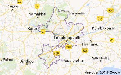 Tiruchirappalli District Tamil Nadu